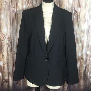 NWT Worthington Black Suit Jacket Blazer 14